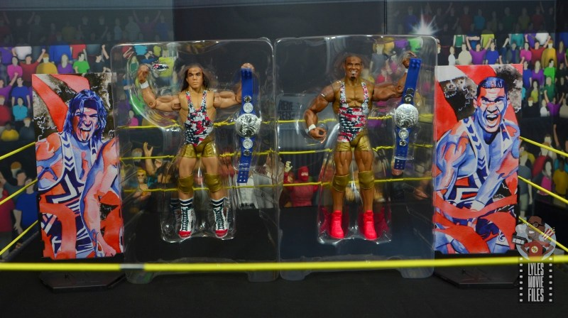 wwe elite american alpha figure review - accessories