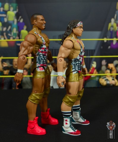 wwe elite american alpha figure review - right side