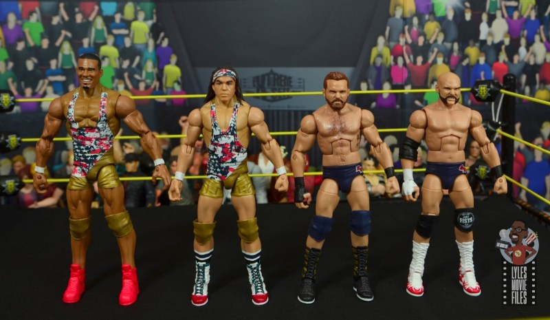 wwe elite american alpha figure review - scale with the revival