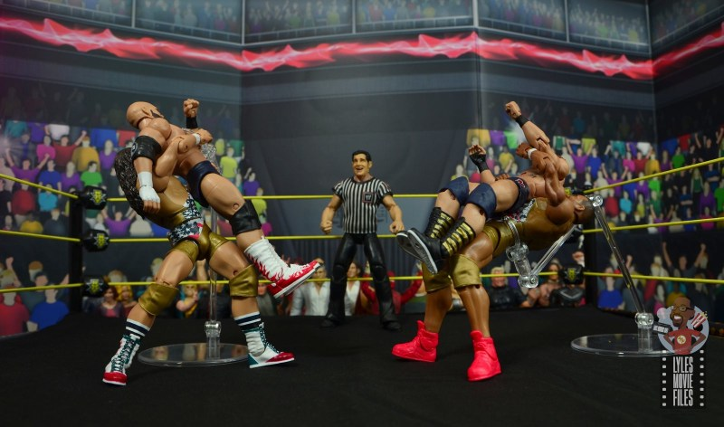 wwe elite american alpha figure review - suplexing the revival
