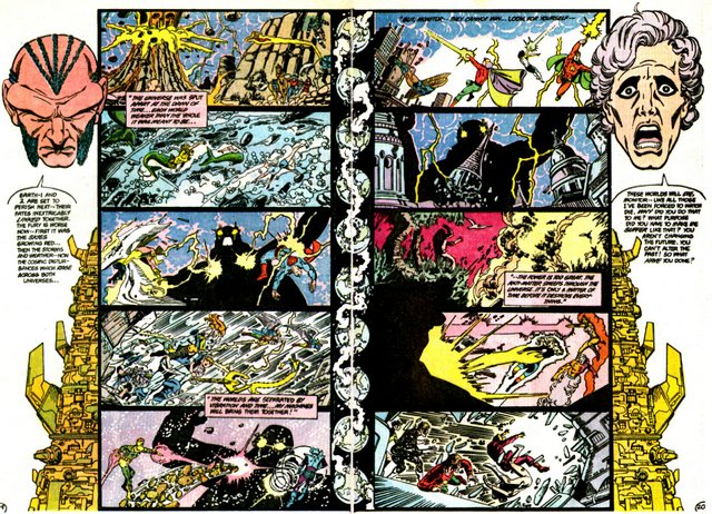 crisis on infinite earths #4 - monitor meets pariah