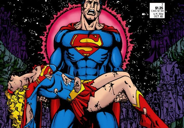 crisis on infinite earths #7 - cover