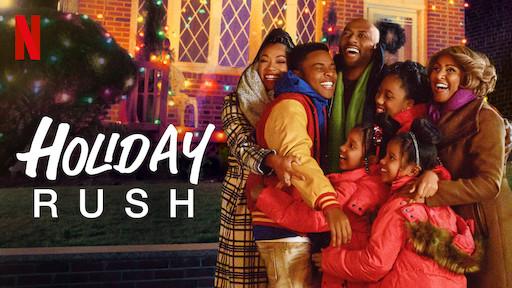 holiday rush review - main poster