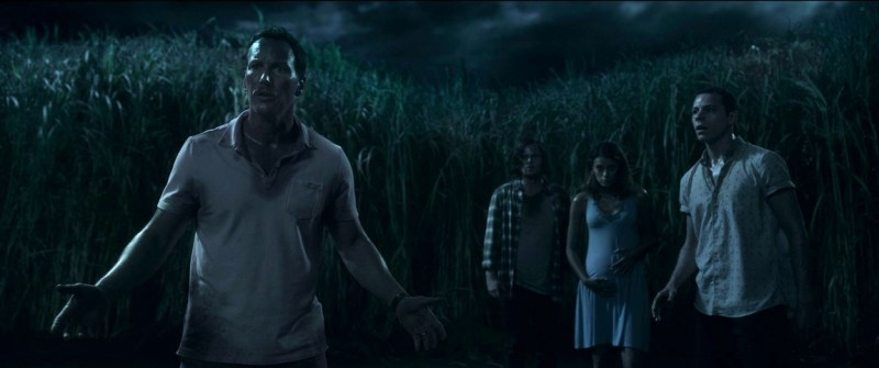 in the tall grass movie review - patrick wilson, harrison gilbertson, laysla de oliveria and avery whitted