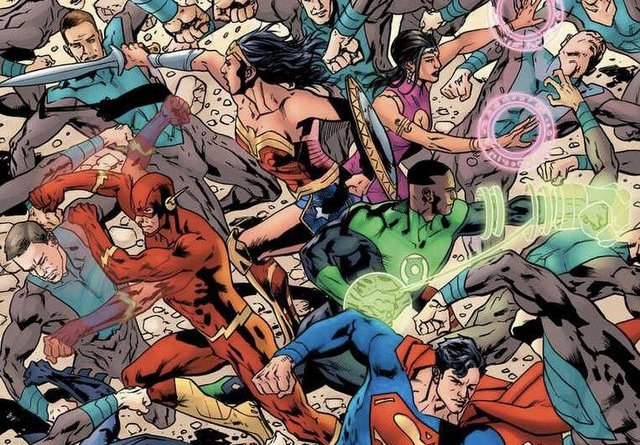 justice league covers