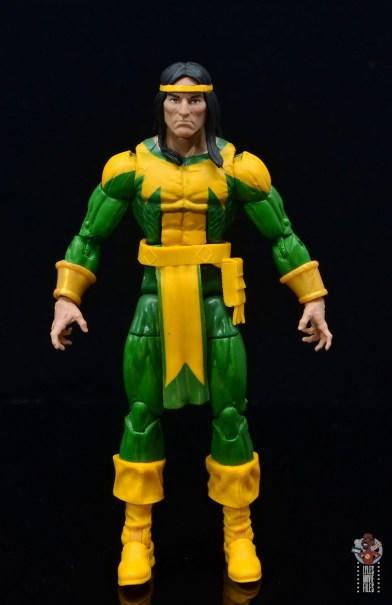marvel legends alpha flight figure set review - shaman figure - front