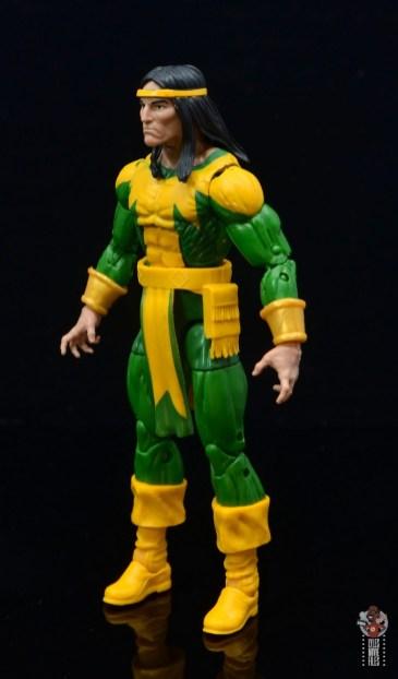 marvel legends alpha flight figure set review - shaman figure - left side