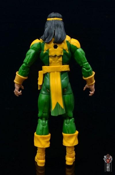 marvel legends alpha flight figure set review - shaman figure - rear