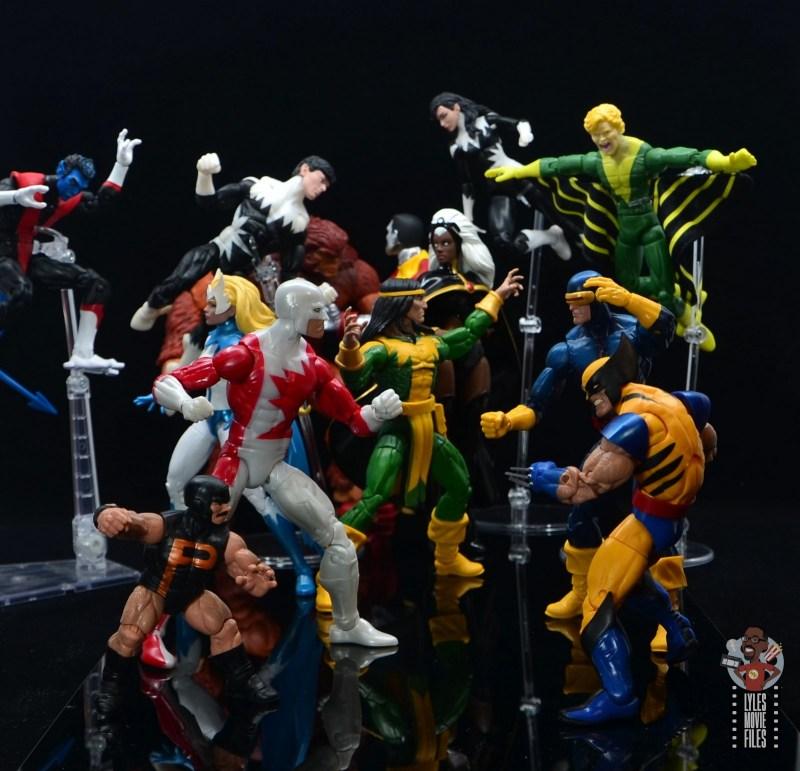 marvel legends alpha flight figure set review - vs the x-men