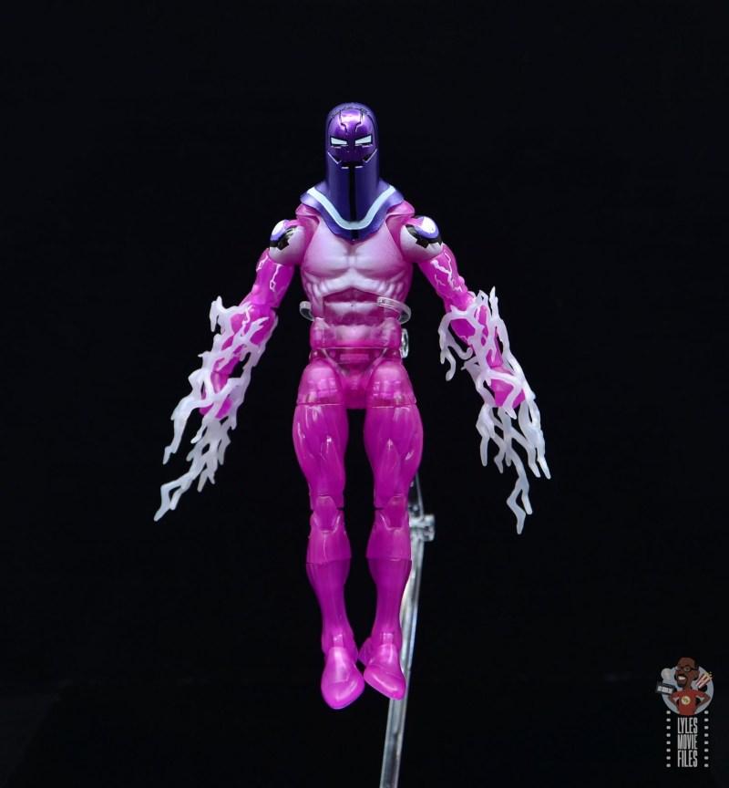marvel legends living laser figure review - flying