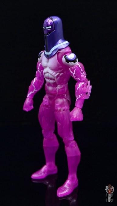 marvel legends living laser figure review - left side