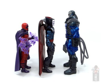 marvel legends mister sinister figure review - facing magneto and apocalypse