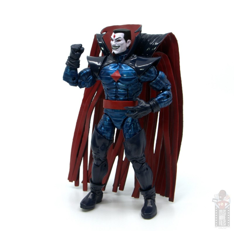 marvel legends mister sinister figure review - fist hand up