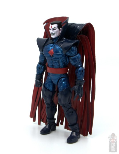 marvel legends mister sinister figure review - left side