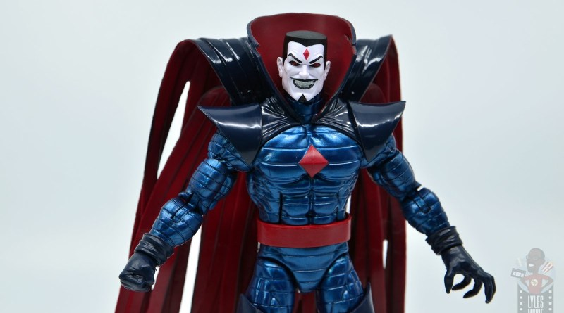 marvel legends mister sinister figure review - main pic