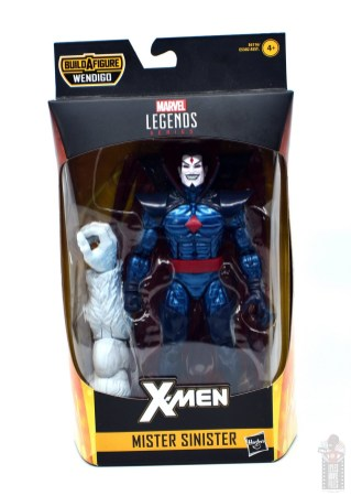 marvel legends mister sinister figure review - package front