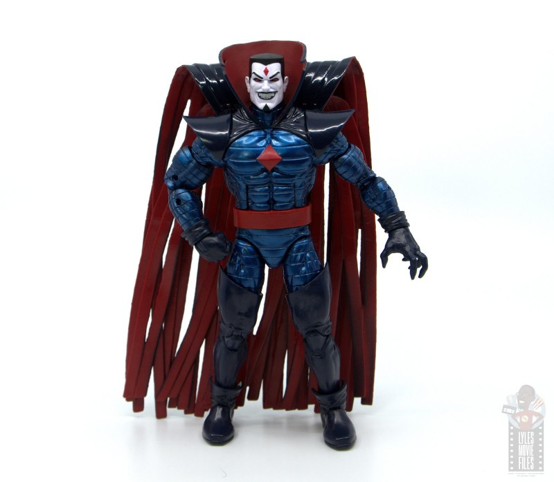 marvel legends mister sinister figure review - standing wide