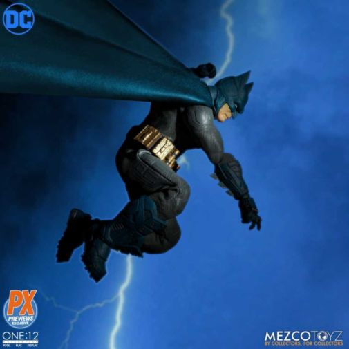 mezco batman supreme knight figure - dark knight returns homage