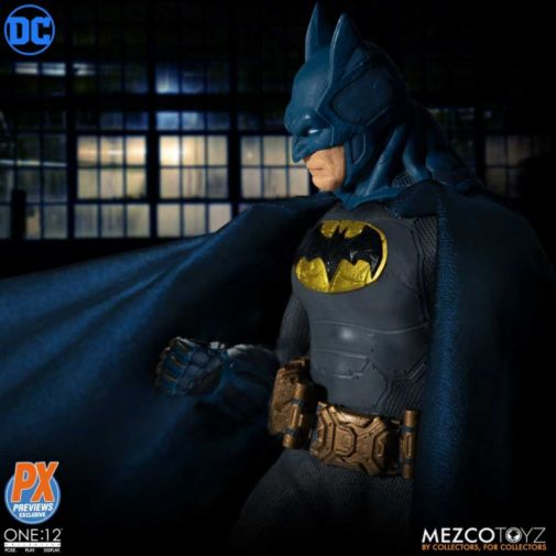 mezco batman supreme knight figure - side shot