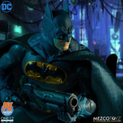 mezco batman supreme knight figure - with grappel gun