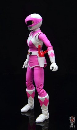 power rangers lightning collection pink ranger figure review -left side
