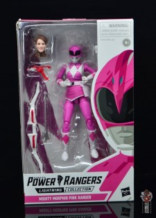 power rangers lightning collection pink ranger figure review -package front