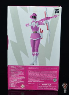 power rangers lightning collection pink ranger figure review - package rear