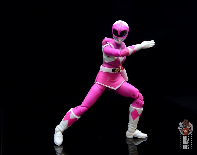 power rangers lightning collection pink ranger figure review -ready for battle