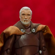 sh figuarts count dooku figure review - closeup