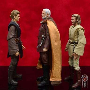 sh figuarts count dooku figure review - facing anakin skywalker and obi-wan kenobi