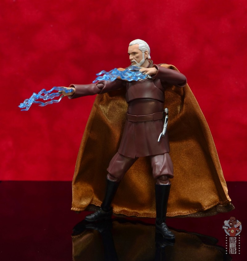 sh figuarts count dooku figure review -sith lightning
