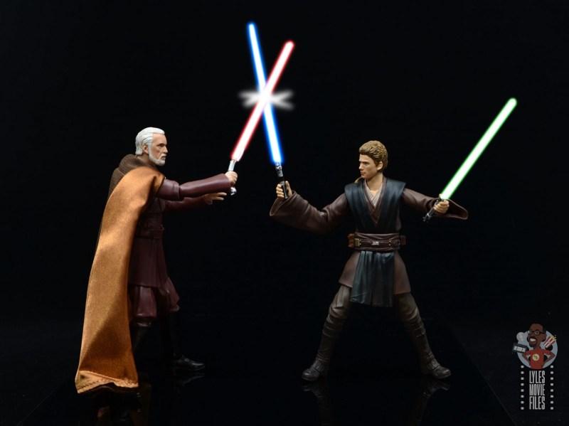 sh figuarts count dooku figure review - vs anakin skywalker - lit
