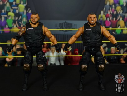 wwe elite authors of pain figure review - front