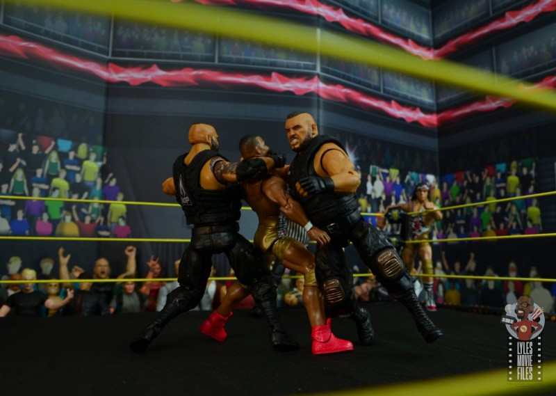 wwe elite authors of pain figure review - hit the last chapter