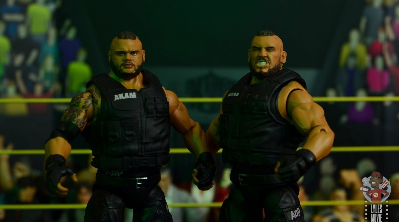 wwe elite authors of pain figure review - main pic