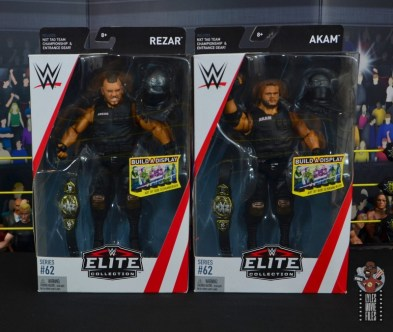 wwe elite authors of pain figure review - package front