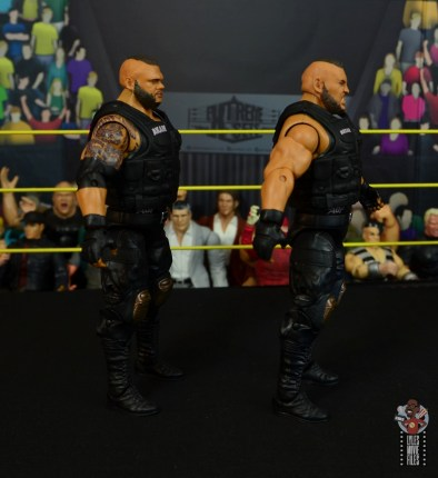 wwe elite authors of pain figure review - right side