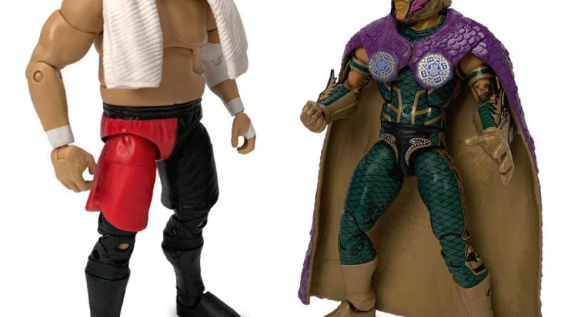 wwe elite two-pack - samoa joe and rey mysterio jr