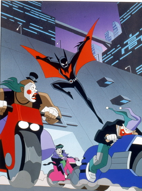 Batman Beyond complete series - batman Beyond fighting