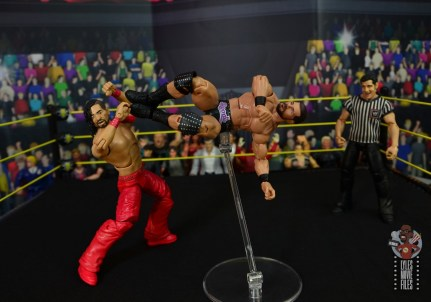 WWE Entrance Greats Bobby Roode figure review - dropkick to shinsuke nakamura