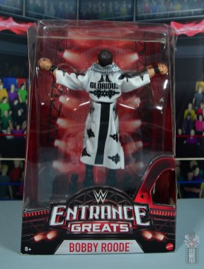 WWE Entrance Greats Bobby Roode figure review - package front