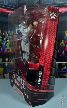 WWE Entrance Greats Bobby Roode figure review - package side