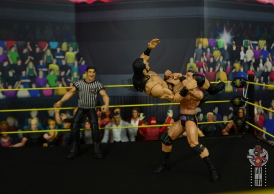 WWE Entrance Greats Bobby Roode figure review - powerbomb to drew mcintyre