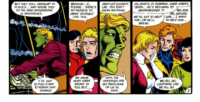 crisis on infinite earths #8 - a legion in mourning
