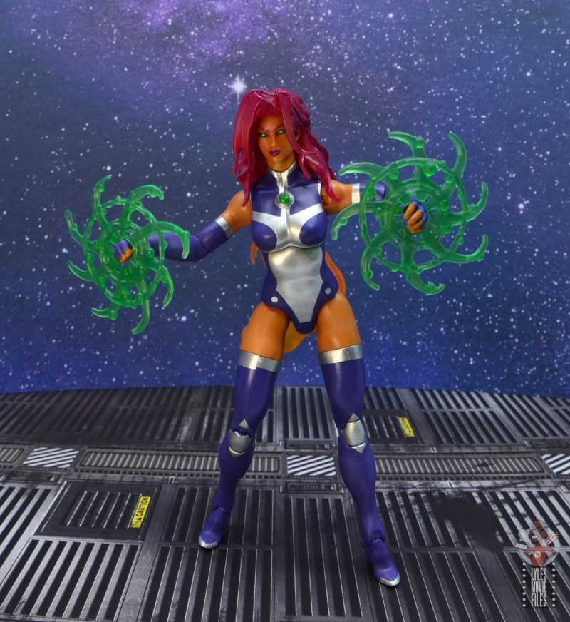 dc multiverse starfire figure review - battle stance
