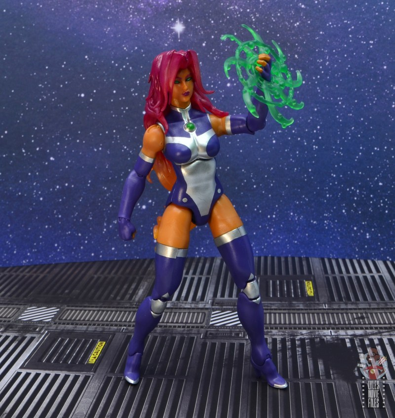 dc multiverse starfire figure review - ready for a fight