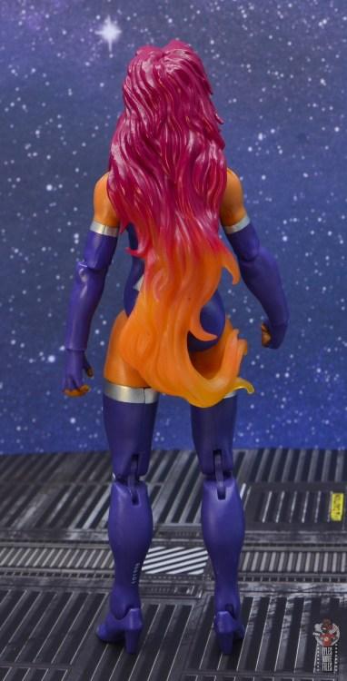 dc multiverse starfire figure review - rear