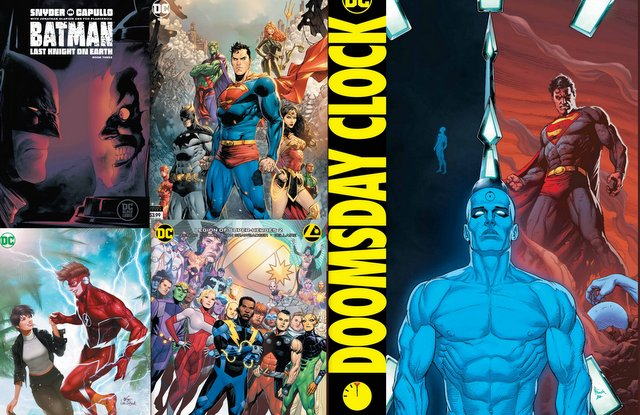 Dc Comics Reviews For 12 18 19 Doomsday Clock 12 Batman 85