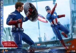 hot toys avengers endgame captain america 2012 figure - slinging shield