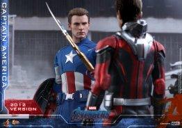 hot toys avengers endgame captain america 2012 figure - with ant-man